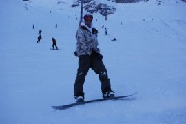 Enjoy snowboarding?