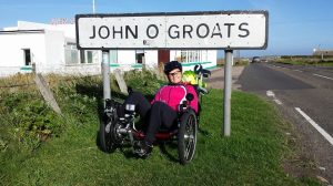 Arrived at John O'Groats